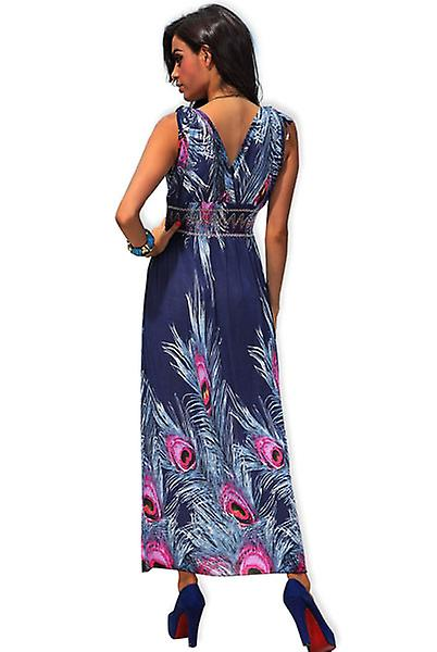 Waooh - Fashion - long flower pattern dress