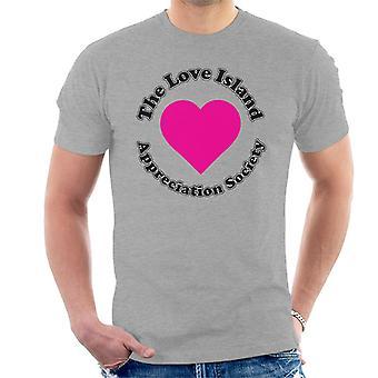 Kjærlighet øya styrking samfunnet menn t-skjorte