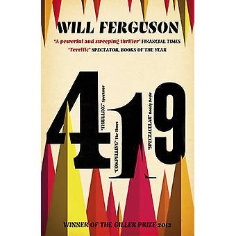 419 by Will Ferguson - 9781781855072 Book