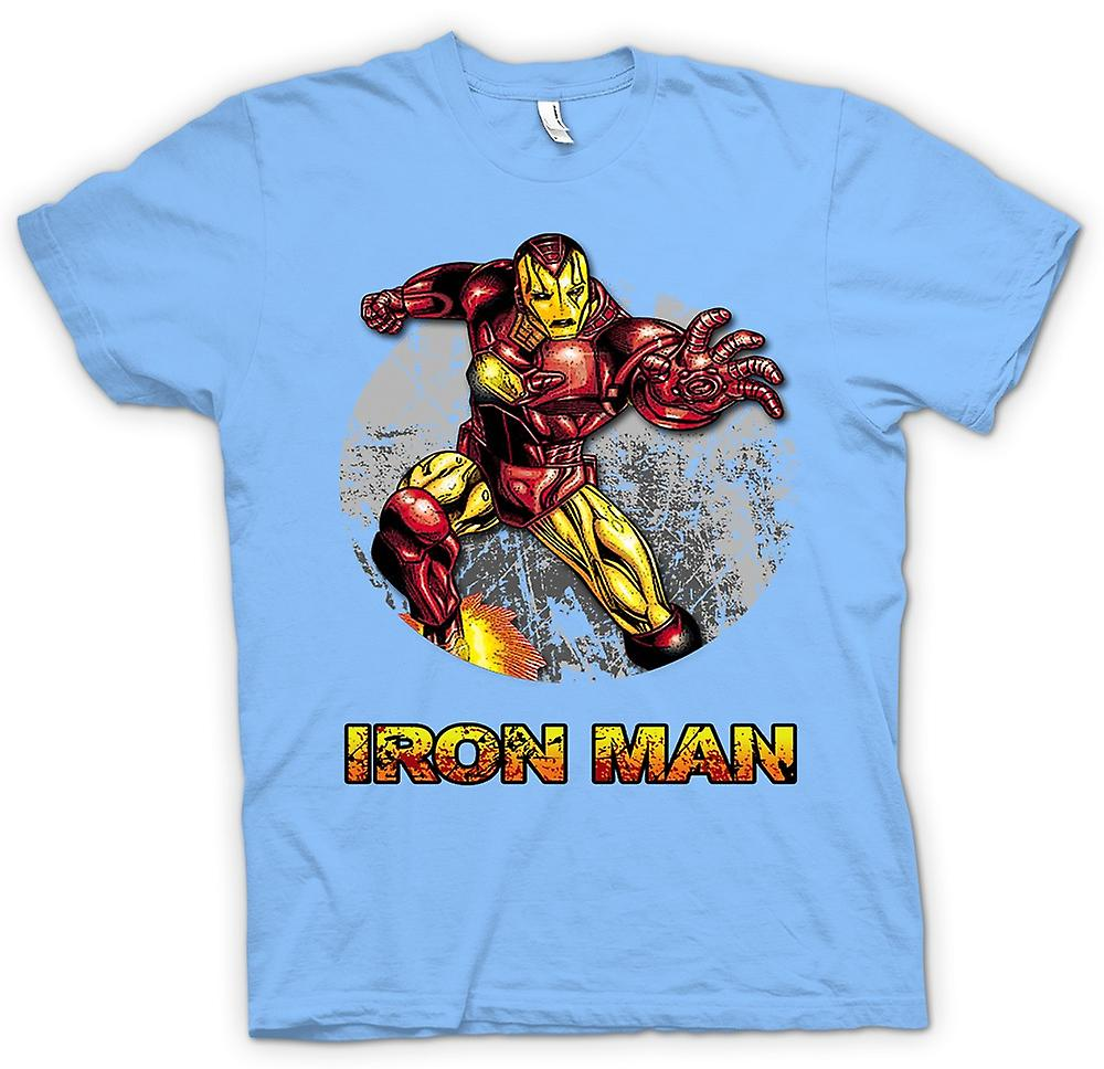 Mens t-shirt - Iron Man - comico Super eroe