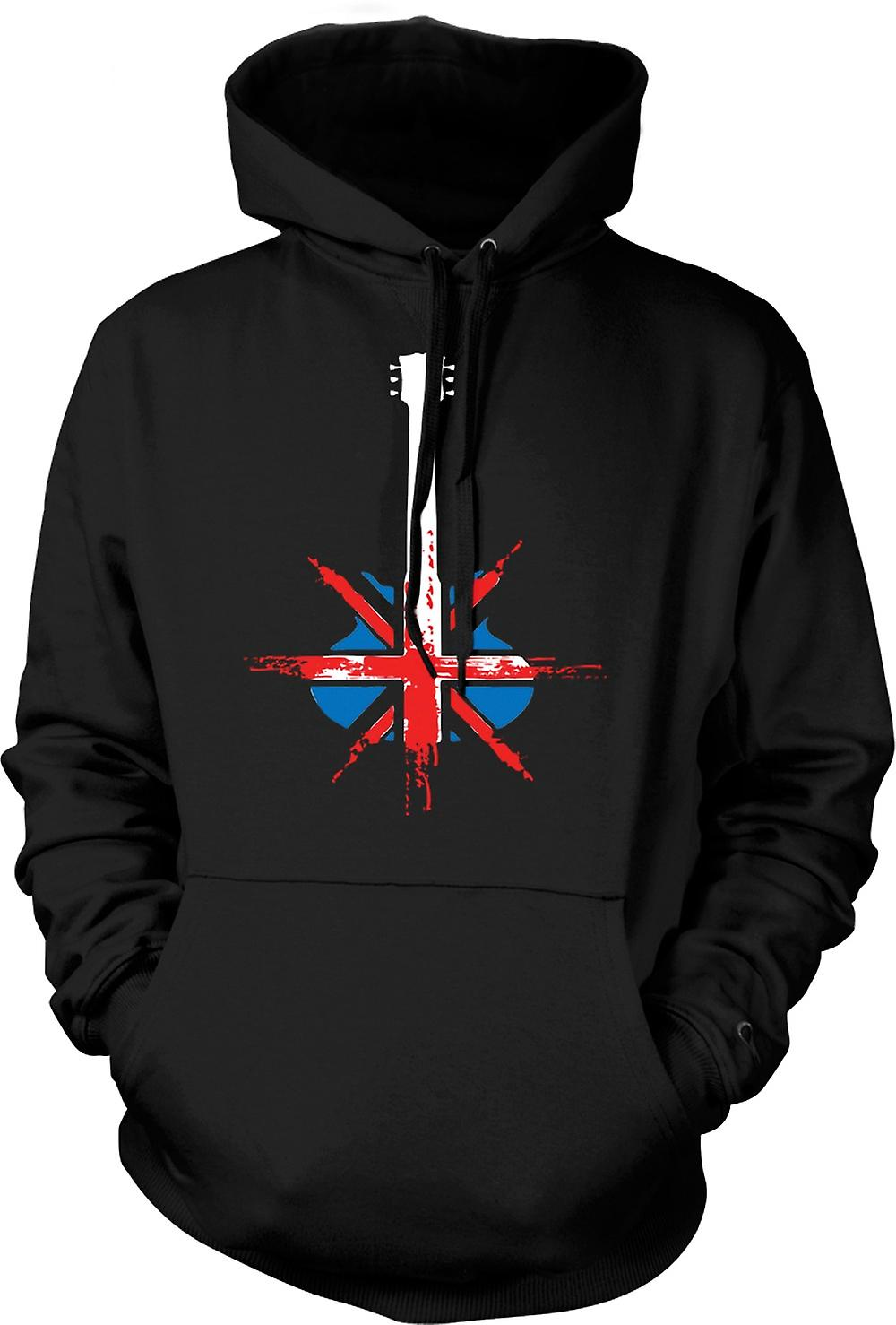 Mens Hoodie - Gibson Guitar UK - Pop Art - musica