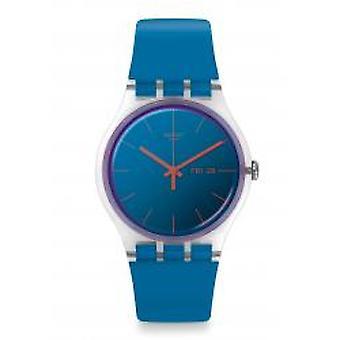 Swatch Polablue Armbanduhr (SUOK711)