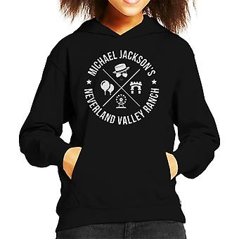 Michael Jacksons Neverland Ranch Kid de Hooded Sweatshirt