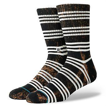 Fundación de postura para hombre calcetines ~ negro de Kurt (talla L)