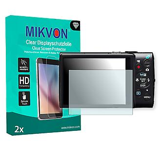 Canon Digital IXUS 255 HS Screen Protector - Mikvon Clear (Retail Package with accessories)