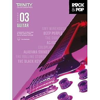 Trinity Rock & Pop 2018 gitaar Grade 3 - Trinity Rock & Pop 2018 (bladmuziek)