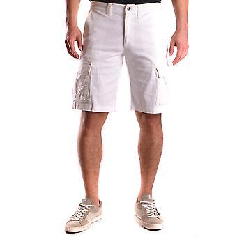 Shorts de algodão branco de originais de Colmar
