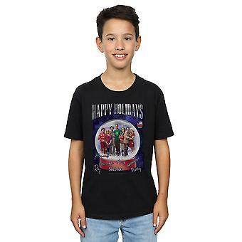 La théorie du Big Bang garçons joyeuses fêtes T-Shirt