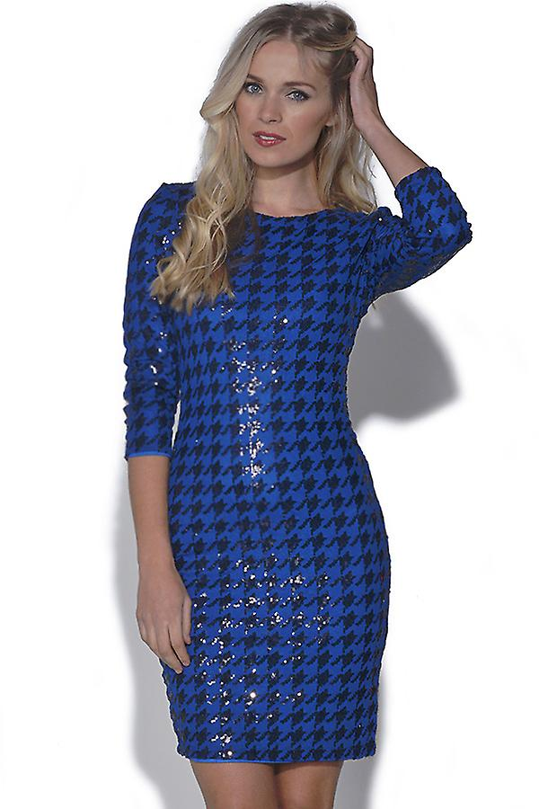 TFNC Paris Houndstooth Dress