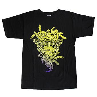 Crooks & Castles Medusa Gradient T-Shirt Black