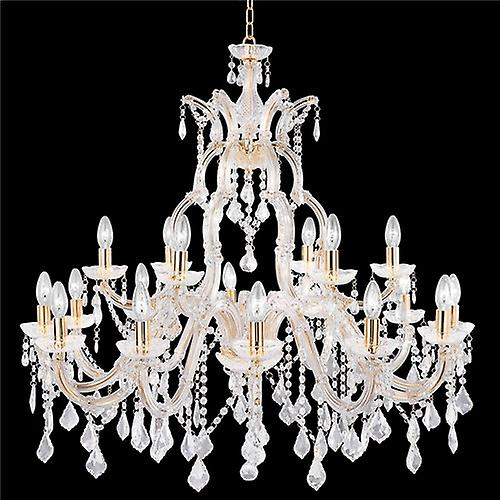Searchlight 1214-18 Marie Therese Modern Chrome Classical Crystal Chandelier