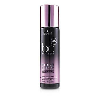 Schwarzkopf BC Bonacure Fibre Force Fortifying Primer (For Over-Processed Hair) 200ml/6.7oz