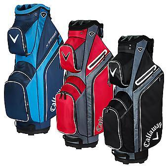 Callaway 2019 X Series 14-Way 7 Pockets Lightweight Cart Golf Bag