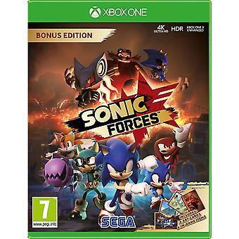 Sonic Forces Bonus Edition Xbox One Game (English/Arabic Box)