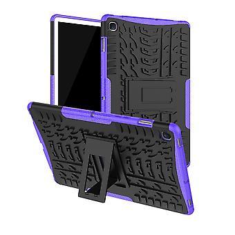 For Samsung Galaxy Tab S5e 10,5 T720F hybrid utendørs dekke tilfelle Lila veske deksel