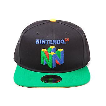 Nintendo 64 Logo Snapback Cap