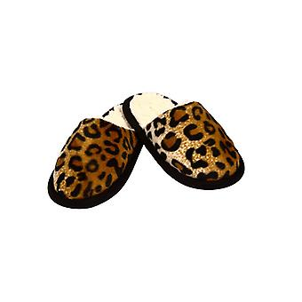 Slippers in a Cheetah look - 38/39
