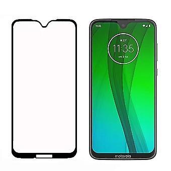 Vidrio templado Motorola Moto G7/G7 Plus negro Protector de pantalla