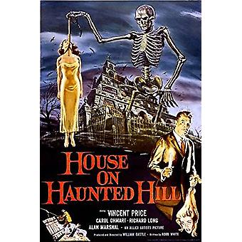 Poster - House on Haunted Hill - Wall Art P3198