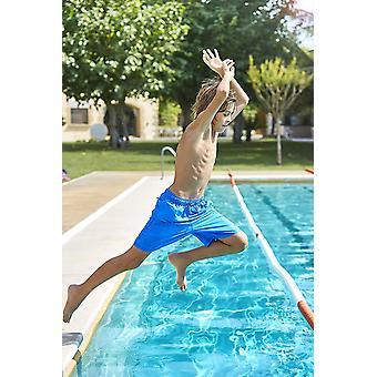 Zoggs Boys Mosman gewaschen Badeshorts - Blau