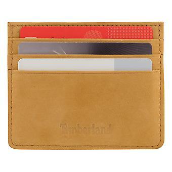 Timberland Men's Case Case Case Card Case Card Beige 8210