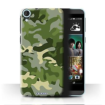 STUFF4 Case/Cover for HTC Desire 820q Dual/Green 1/Camouflage Army Navy