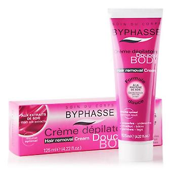 Byphasse Hair Removal Cream 125ml Silk Extracts (Damen , Ästhetik , Epilierer , Wachs)