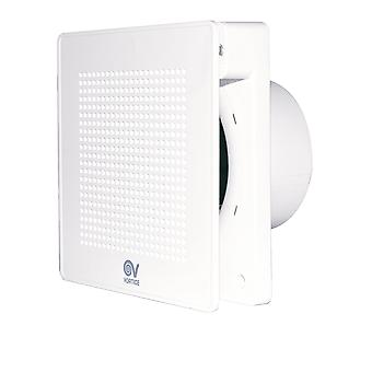 Design small room bathroom fan PUNTO EVO ME 100 different models up to 95 m³/h