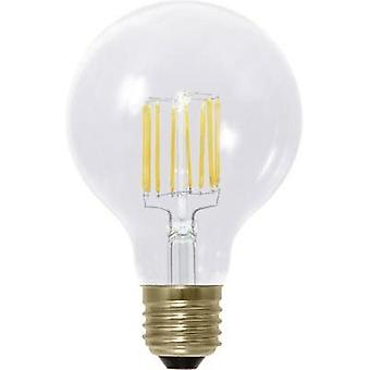 LED Segula 230 V E27 6 W = 45 W Warm white EEC: A+ Globe (Ø x L) 80 mm x 120 mm Filament, dimmable 1 pc(s)