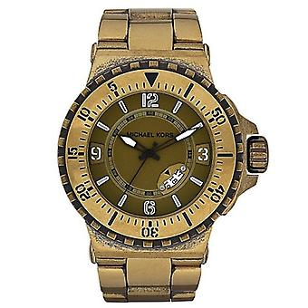 Michael Kors MK7063 Bronze-Plated Bracelet Watch