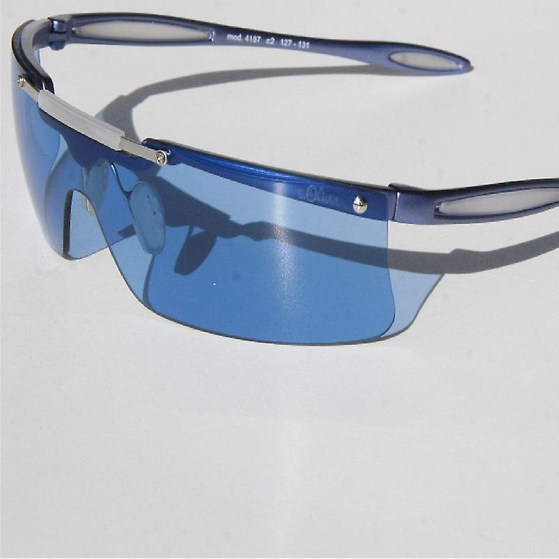 s.Oliver Sunglasses 4187 C2 blue mat SO41872