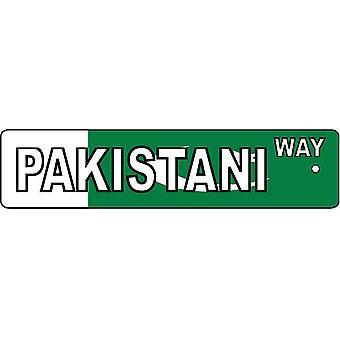 Pakistán forma signo calle ambientador de aire