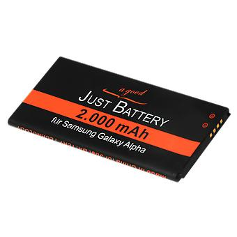 Battery for Samsung Galaxy GT-g850F alpha