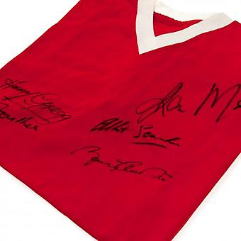 Manchester United 1958 Busby Babes Signed Shirt