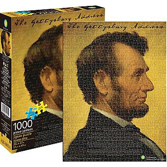 Abraham Lincoln 1000 piece jigsaw puzzle 690mm x 510mm  (nm)