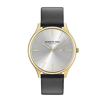 Kenneth Cole New York Herren Uhr Armbanduhr Leder KC15096001