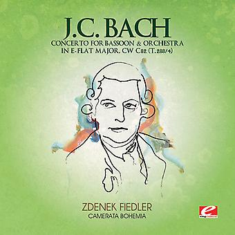 J.C. Bach - J.C. Bach: Concerto for Bassoon & Orchestra in E Flat Major, Cw C82 (T.288/4) [CD] USA import