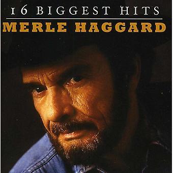Merle Haggard - 16 största Hits [CD] USA import