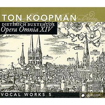D. Buxtehude - Buxtehude: Opera Omnia Xiv - vokalværker, Vol. 5 [CD] USA import