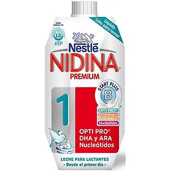 Nestlé Premium Liquid Nidin 1 Milk 500 ml (Jeugd , Voederen , Liquid milk)