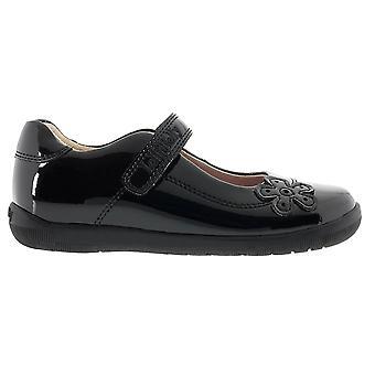 Lelli Kelly Leora LK8264 Girls Black Patent School Shoes