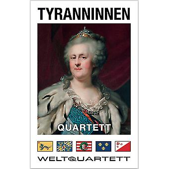 Tyranninnen Quartet dictator dictators joke card game