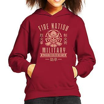 Brand er hård legenden om Korra Kids hætte Sweatshirt