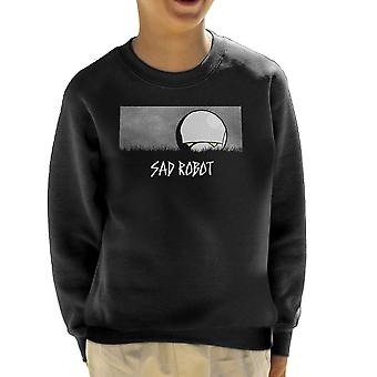 Sad Robot Marvin Hitchhikers Guide To The Galaxy Kid's Sweatshirt