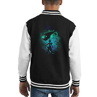 Ex soldat kunst Cloud strid Final Fantasy 7 Kid's Varsity jakke