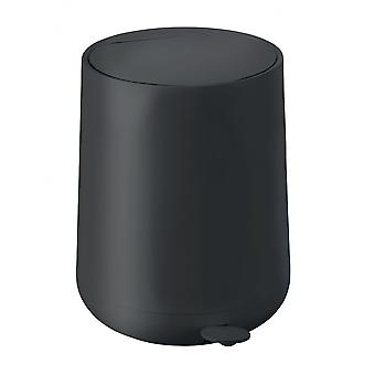 Zone Denmark Nova 5 Litre Bathroom Pedal Bin - Black