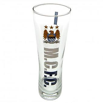 Manchester City Tall Beer Glass EC