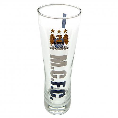 Manchester City hoog bierglas