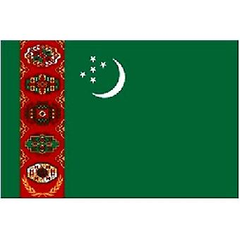 Turkmenistan Flagge 5 ft x 3 ft