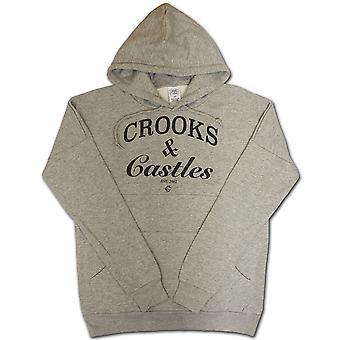 Crooks & Castles Thuxurious Dolman Pullover Hoodie Heather Grey
